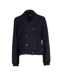 Kangra Cashmere Coats And Jackets Jackets Men Dark Blue