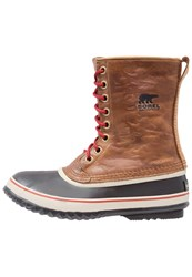 Sorel 1964 Premium Winter Boots Elk Black Brown