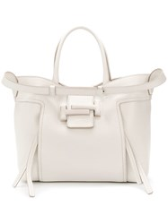 Tod's Double T Tote Bag White