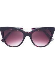 Derek Lam 'Lennox' Sunglasses Pink Purple