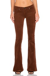 Rag And Bone Mid Rise Bell Bottom Cognac