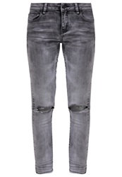 Vila Vicrush Slim Fit Jeans Light Grey