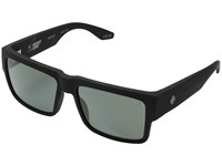 Spy Optic Cyrus Soft Matte Black Happy Grey Green Polar Sport Sunglasses