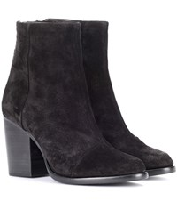 Rag And Bone Ashby Suede Ankle Boots Black