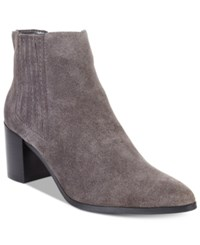 Charles By Charles David Unity Booties Women's Shoes Stone Grey