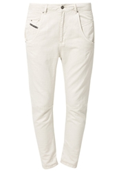 Diesel Fayza Relaxed Fit Jeans 0Saeg Off White