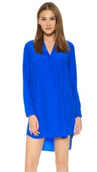 Amanda Uprichard Monica Shirtdress Royal