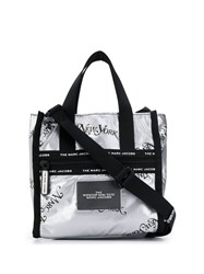 Marc Jacobs New York Small Tote Silver