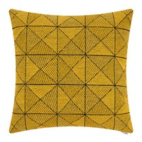 Muuto Tile Wool Cushion 50X50cm Yellow