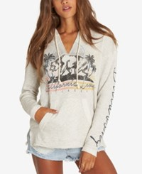 Billabong Juniors' Days Off Graphic French Terry Hoodie Gray