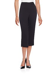 Ella Moss Cropped Trousers Black
