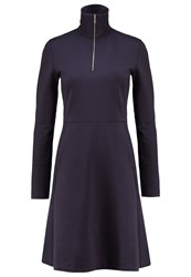 Wood Wood Janet Jersey Dress Dark Navy Dark Blue