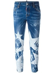 Dsquared2 Cool Girl Big Star Jeans Blue