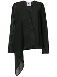 Lost And Found Rooms Asymmetric Top Black
