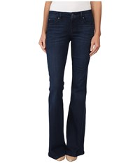 Level 99 Dahlia Flare In Serene Serene Women's Jeans Blue