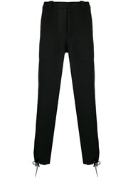 Oamc Military Style Trousers Black