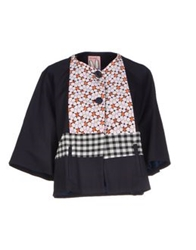 Rose' A Pois Blazers Dark Blue