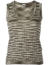 M Missoni Knitted Top Black