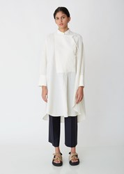 Jil Sander Giovanna Tunic Shirt Natural
