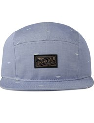 Benny Gold Paper Plane Pattern 5 Panel Cap