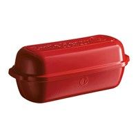 Emile Henry Bread Loaf Baker Large Red
