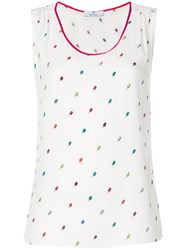 Paul Smith Ps By Ice Cream Tank Top White