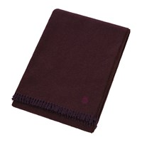 Zoeppritz Since 1828 Must Relax Virgin Wool Blanket 130X190cm Wine