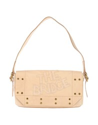 The Bridge Handbags Beige