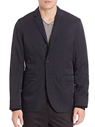 Vince Nylon Twill Performance Jacket Black