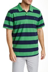 Timberland Short Sleeve Rugby Stripe Polo Multi