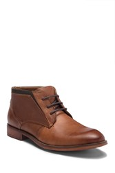 Steve Madden Ripcord Leather Boot Cognac Lea