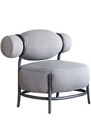 Gebruder Thonet Vienna Chignon Chair Grey Black