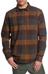Quiksilver Stretch Flannel Shirt Stretch Flannel Rubber