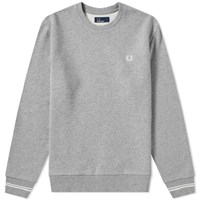Fred Perry Crew Sweat Grey