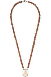 Loree Rodkin 18 Karat White Gold Multi Stone Necklace
