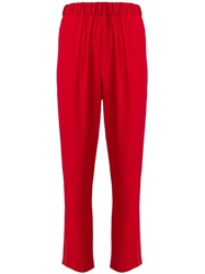 Marni Track Pants Red