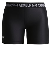 Under Armour Tights Black Metallic Silver