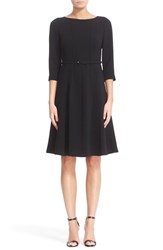 Lafayette 148 New York Women's Amalie Finesse Crepe Dress