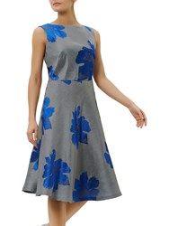 Fenn Wright Manson Toulouse Floral Dress Blue