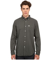 Matix Clothing Company Gridley Woven Shirt Army Men's Long Sleeve Button Up Green