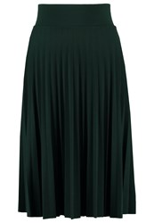 Anna Field Pleated Skirt Scarab Dark Green