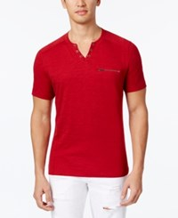 Inc International Concepts Men's Dune Chambray Shirt Only At Macy's Green Dust