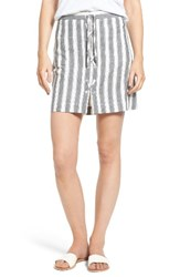 Madewell Women's Safari Stripe Miniskirt