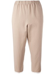 N 21 No21 Harem Trousers Nude Neutrals