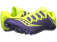 Saucony Showdown 4 Citron Purple Women's Shoes Green