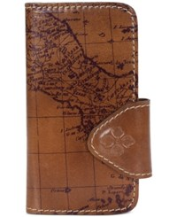 Patricia Nash Vietta Samsung 7 Phone Case With Credit Card Slots Riot Rust