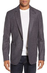 Flynt Men's Big And Tall Donegal Regular Fit Wool And Silk Sport Coat Tan