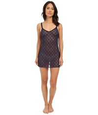B.Tempt'd Lace Kiss Chemise Peacoat Women's Pajama Blue
