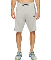 New Balance 247 Tech Shorts Athletic Grey Men's Shorts Gray