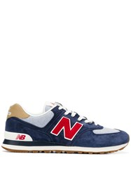 New Balance Lace Up Sneakers Blue